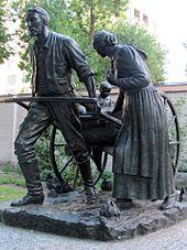 170px-Mormon_Pioneer_handcart_statue