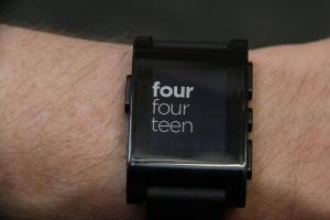 Digital Life-Tech Test-Pebble Smart Watch
