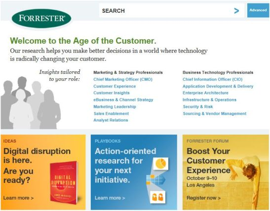 FORRESTER screenshot