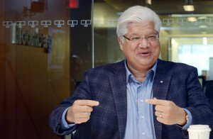 Along with BlackBerry smartphone inventor Mike Lazaridis, who has poured nearly half a billion dollars into quantum science in Waterloo, Ontario, D-Wave is creating a second act for a Canadian technology sector known more recently for Nortel Networks Corp.'s bankruptcy and BlackBerry's struggles. Photographer: Aaron Harris/Bloomberg