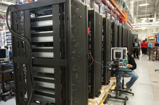 Purdue's newest supercomputer Conte, is in Texas, but will be shipped and reassembled at Purdue University in August.