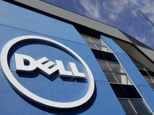 Dell offices in Santa Clara, Calif.  /  Paul Sakuma / Associated Press