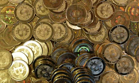 Bitcoin. Authorities have expressed concerns about potential money laundering abuses and its use in funding illegal activities. Photograph: Rick Bowmer/AP