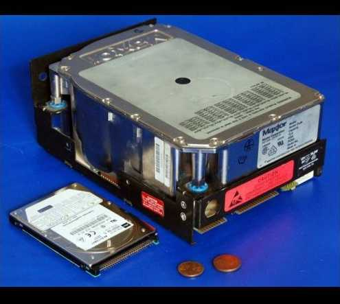 We can do better: A 5.25 inch MFM hard disk drive (Photo by Ian Wilson used for illustrative purposes)